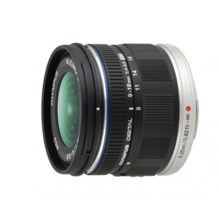 Olympus M.ZUIKO Digital ED 9-18mm f/4-5.6 Lens - Black