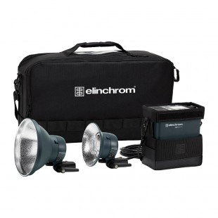 Elinchrom ELB 500 TTL Dual To Go On-Location Twin Lighting Kit