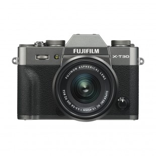 Fujifilm X-T30 Digital Camera with XC 15-45mm f/3.5-5.6 OIS PZ Lens (Charcoal Silver)