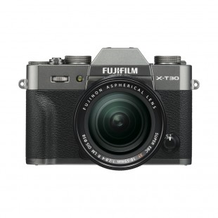 Fujifilm X-T30 Digital Camera with XF 18-55mm f/2.8-4 R LM OIS Lens (Charcoal Silver)