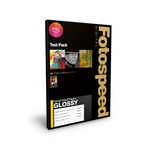 Fotospeed Test Pack A4 - Fine Art Glossy - 9 Sheets