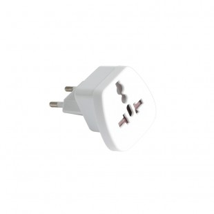 Hahnel European Visitor Plug to Socket Adapter