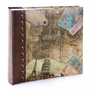 "Kenro Old World Map Memo 200 7x5"" Album"