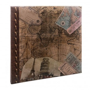 Kenro Old World Map Self Adhesive Album