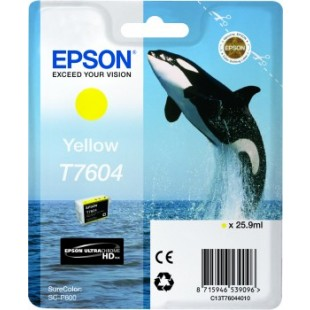 Epson Killer Whale T7604 Yellow ink cartridge