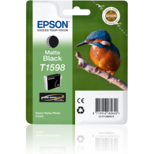 Epson Kingfisher T1598 Matte Black Ink for Stylus R2000 Printer