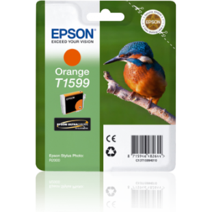 Epson Kingfisher T1599 Orange Ink for Stylus R2000 Printer