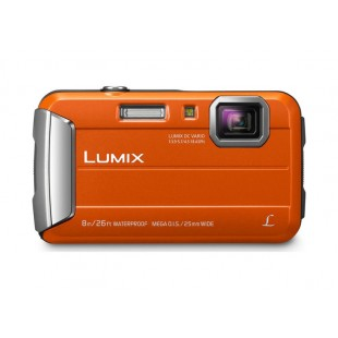 Panasonic Lumix DMC-FT30 Waterproof Compact Camera - Orange