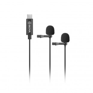 Boya BY-M3D Digital Dual Lavalier Microphone for Android Devices