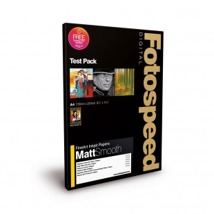 Fotospeed Test Pack A4 - Fine Art Matt Smooth - 18 Sheets