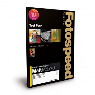 Fotospeed Test Pack A4 - Fine Art Matt Textured - 12 Sheets