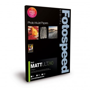 Fotospeed Matt Ultra 240 GSM A3 50 Sheets