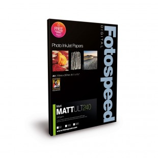Fotospeed Matt Ultra 240 GSM A4 50 Sheets