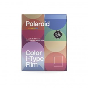 Polaroid Originals i-Type Colour Film - Metallic Nights Twin Pack