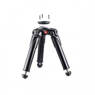 Manfrotto MVT535HH Alu Single Leg Hi Hat, 75-60mm Ball