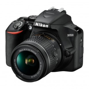 Nikon D3500 DSLR Camera & AF-P DX 18-55mm VR Lens