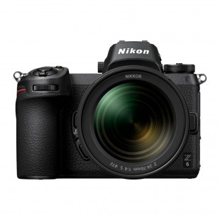 Nikon Z6 Mirrorless Digital Camera & Z 24-70mm f/4 S Lens