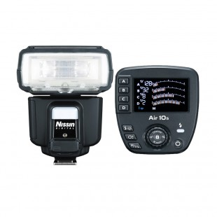 Nissin i60a Flashgun with Commander Air 10s (Canon)