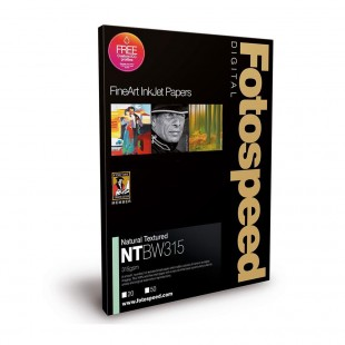 Fotospeed NST Bright White 315gsm A2 25 Sheets