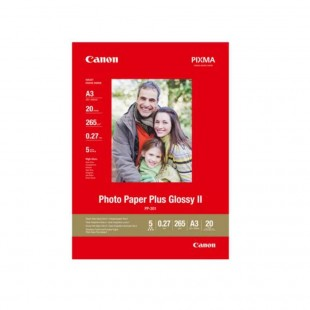 Canon Paper PP-201 Glossy II Photo Paper Plus A3 - 20 Sheets