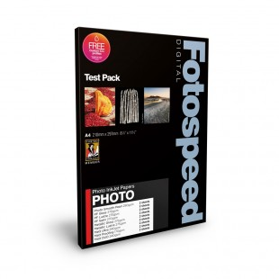 Fotospeed Test Pack A4 - Photo Quality Range - 16 Sheets