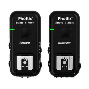 Phottix Strato II 5-in-1 Wireless Flash Trigger for Canon