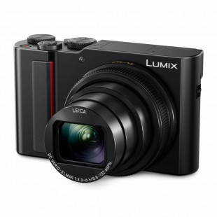 Panasonic Lumix TZ200 Compact Digital Camera (Black)
