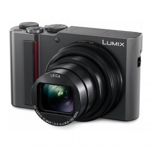 Panasonic Lumix TZ200 Compact Digital Camera (Silver)