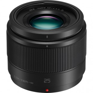 Panasonic Lumix G 25MM f/1.7 Lens - Black