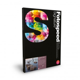 Fotospeed Smooth Cotton 300gsm A4 25 Sheets
