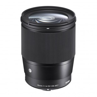 Sigma 16mm f/1.4 DC DN Contemporary Lens - for Sony E-Mount