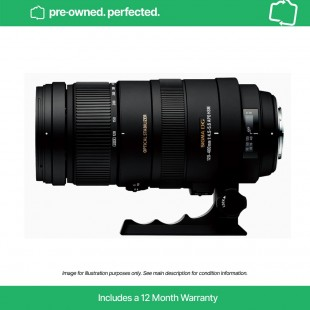 Pre-Owned Sigma 120-400mm f/4.5-5.6 APO DG OS HSM Lens - for Canon EF