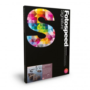 Fotospeed Smooth Cotton 300gsm A2 25 Sheets