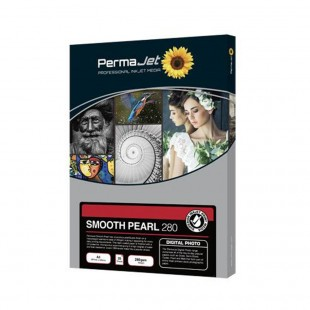PermaJet Smooth Pearl 280 A2 Paper - 25 Sheets