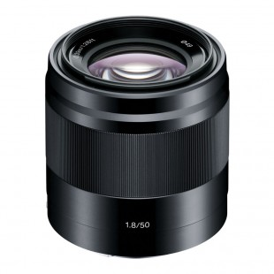 Sony E 50mm f/1.8 OSS Lens - Black