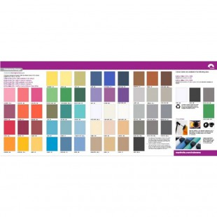 Colorama Paper Backgrounds Swatch Card