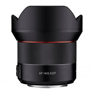 Samyang AF 14mm f/2.8 EF Lens - for Canon EF Mount