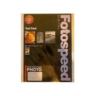 Fotospeed Test Pack A4 - 8 Sheets