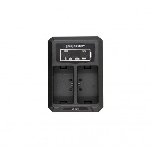 ProMaster Battery Dually Charger USB for Canon LP-E6 (N) Battery