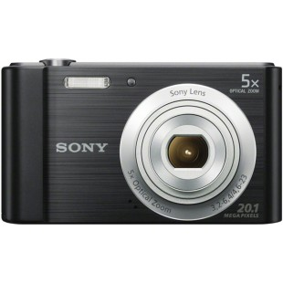 Sony Cyber-shot DSC-W800 Digital Compact Camera (Black)