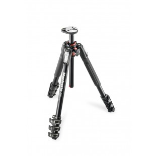 Manfrotto MT190XPRO4 Alu Tripod 4 Section Black