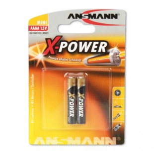 Ansmann X-Power AAAA / LR8 Alkaline Battery (2 -Pack)
