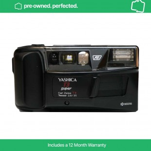 Pre-Owned Vintage Yashica T3 Super 35mm Film Compact Camera
