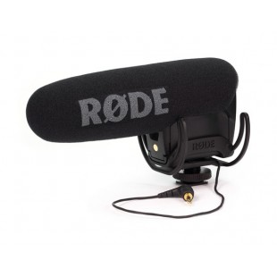 VideoMic Pro R angled front