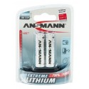 Ansmann Extreme Lithium AA Battery 2 pack