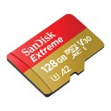 SanDisk 128GB Extreme UHS-I micro SDXC Memory Card with SD Adapter