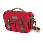 Billingham Hadley Small Pro Camera Bag (Burgundy Canvas/Chocolate Leather)