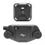 Peak Design Capture V3 Camera Clip & Standard QR Plate (Black)