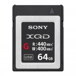 Sony XQD G Series 64GB High Speed Memory Card