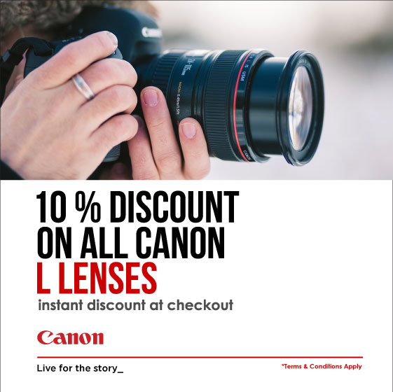10% Off Canon L Lenses